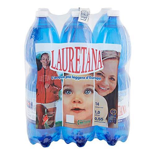 LAURETANA - ACQUA MINERALE NATURALE - 1.5L (confezione da 6)