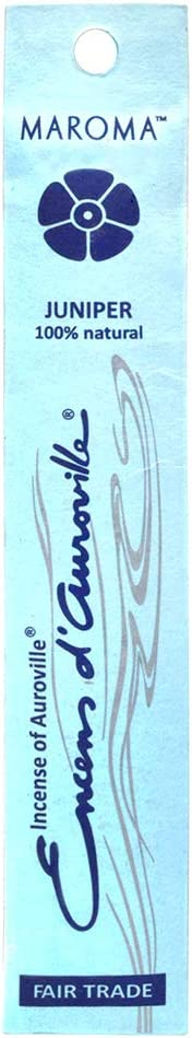 Maroma EA10-A93 Juniper Incense, 10 CT