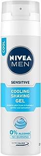 NIVEA MEN Shaving, Sensitive Cooling Shaving Gel, 200ml