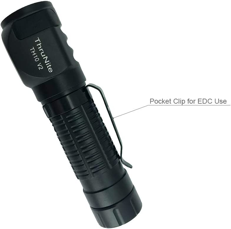 ThruNite TH10 V2 Lampe frontale LED rechargeable avec port USB CREE XHP35 HI jusqu/à 2100 lumens