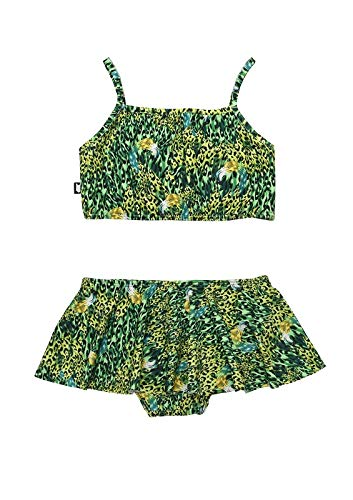 HEBE - bikini met rokje - groen