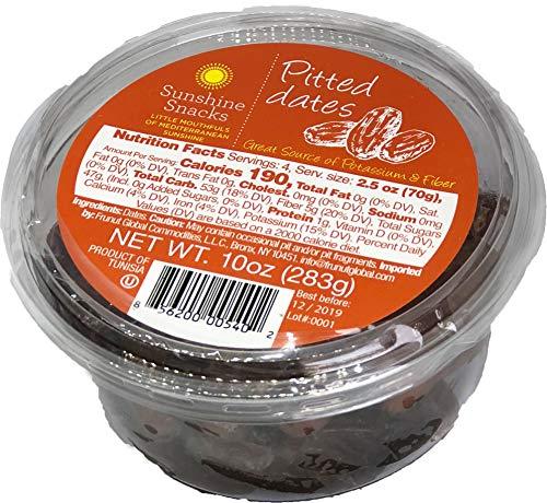 Sunshine Snacks Pitted Date (Premium Quality) (10 OZ)