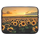 Waterproof Laptop Sleeve 15 Inch, Sunflowers 13-wallpaper-1920x1080 Business Briefcase Protective Bag, Computer Case Cover for Ultrabook, MacBook Pro, MacBook Air, Asus, Samsung, Sony, Notebook