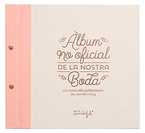 "Mr. Wonderful ""Álbum no oficial de la nostra boda"""