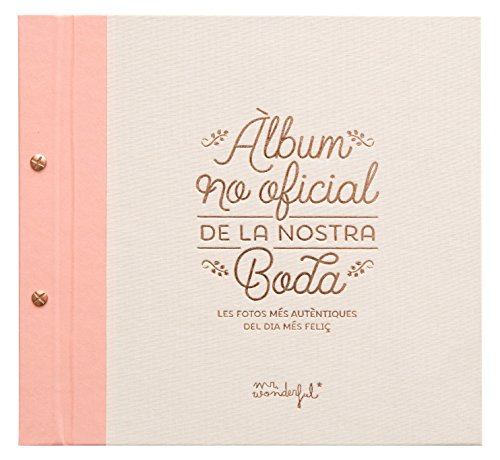 "Mr. Wonderful ""Álbum no oficial de la nostra boda"""