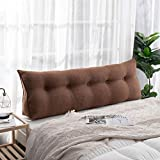 Almohada de Lectura Cojín Cuña Gran el cojín del triángulo de la lectura de la cuña de la cuña con la almohada triangular cabecera almohada refuerzca el respaldo sofá cama tapizado reforzada cojín par