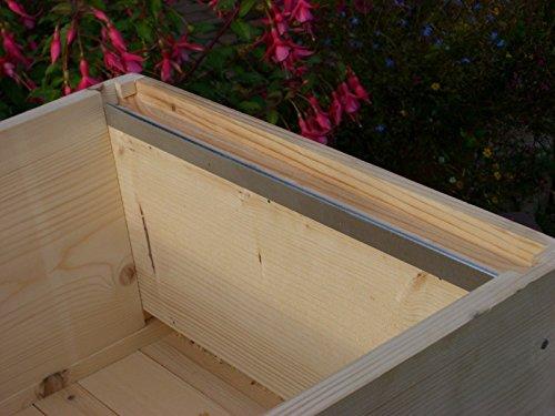 Rahmenhalter für Bienenstöcke, aus Stahl, 12 Stück (6Paar)