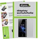 dipos I 6X Schutzfolie matt kompatibel mit Sony Xperia XZ2 Compact Folie Bildschirmschutzfolie