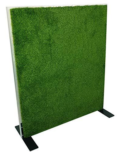 Horch Akustik Stellwand, Rasenoberfläche, Schallabsorber, mit Alurahmen, Raumteiler, Trennwand, 110cm x 150cm