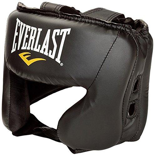 Everlast Headguard Verstellbarer Riemen für Boxsport, Schwarz, Einheitsgröße