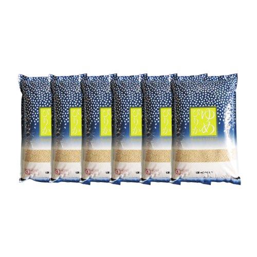 令和元年産 ゆめぴりか A次品 玄米 30kg (5kg×6袋) 第一区分S 認証マーク 一等米 北海道米