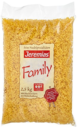 Jeremias Wellenspätzle, Family Frischei-Nudeln, 1er Pack (1 x 2.5 kg Beutel)