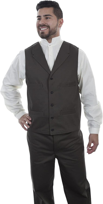 Scully Men's Herringbone Vest