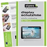 dipos I 2X Schutzfolie matt kompatibel mit Odys Lux Folie Bildschirmschutzfolie