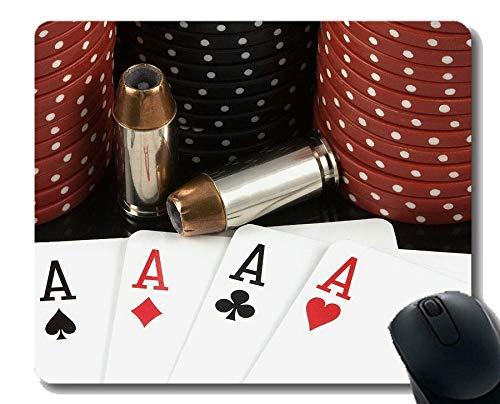 Yanteng Alfombrilla de ratón para Juegos, póquer de Altas