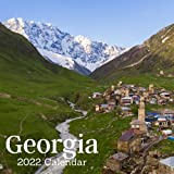 Georgia 2022 calendar: 18 Months Calendar 2022-2023 For Women, Men, Kids & Georgia Lovers ,Size 8.5 x 8.5 Inch, Large box for record dates and special events