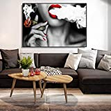 zqyjhkou DIY-Pintura de Diamantes 5D/Dollar Money Cloud Girl/Craft DIY Crystal/Kit Home Wall Decor(Sin Marco) Diamante Redondo