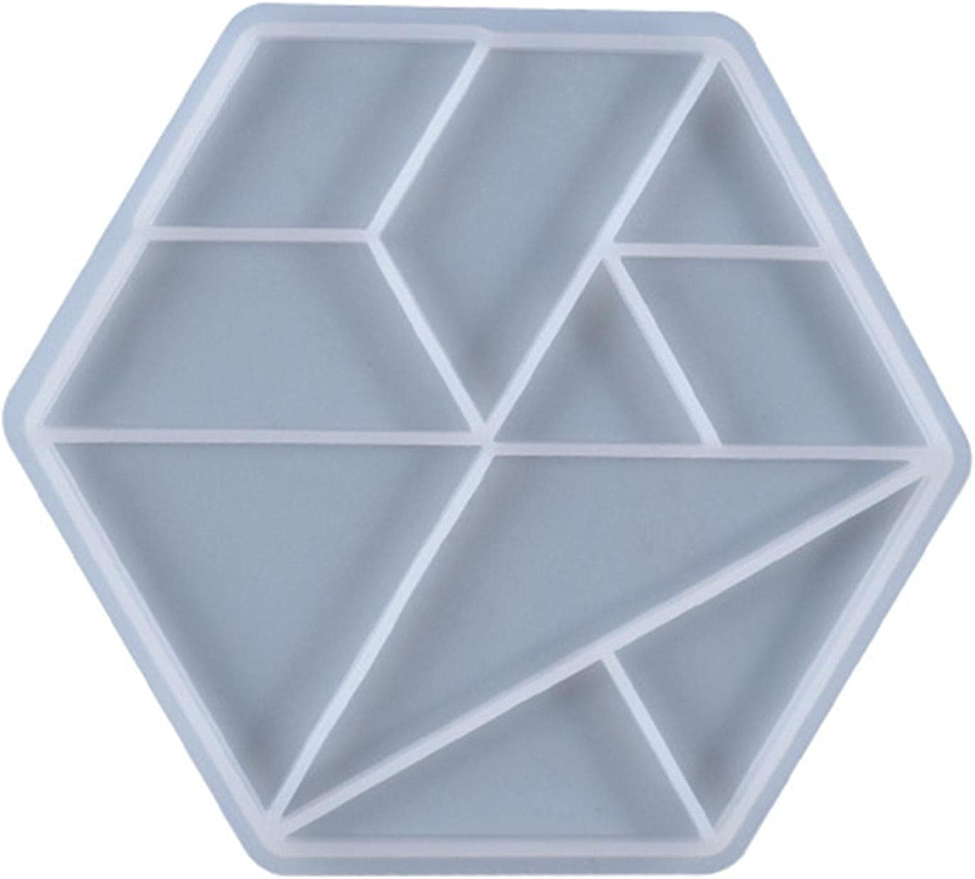 Resin Tray Molds Max 61% Deluxe OFF Game Board Bracelet Mould Tangram Silico