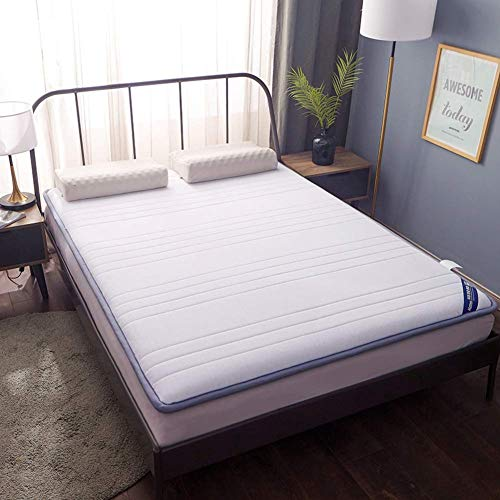 DJQ Tatami Futon Mattresses, Japanese Traditional Sleeping Mat Tatami Thick Quilted Folding Mattress Pad Mat for Student Dormitory Living Room B 150x200cm (59x79inch)