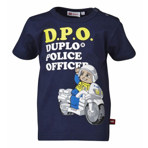 Lego Wear - T - Shirt Garçon - Bleu - Blau (Dusty Blue) - FR : 18 Mois (Taille Fabricant : 86) (Brand size: Herstellergröße: 86)