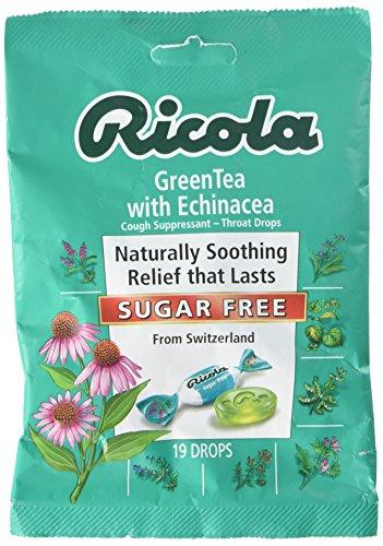 Echinacea Green Tea Lozenges 19 Count (Case of 12)