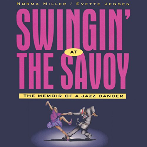 Swingin' at the Savoy audiobook cover art