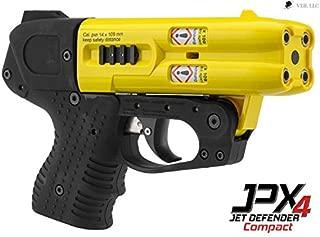 4 Shot Compact Pepper Spray Gun Yellow