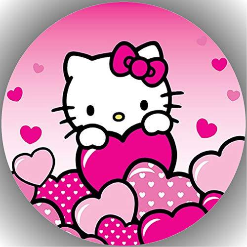 Fondant Tortenaufleger Tortenbild Hello Kitty N6