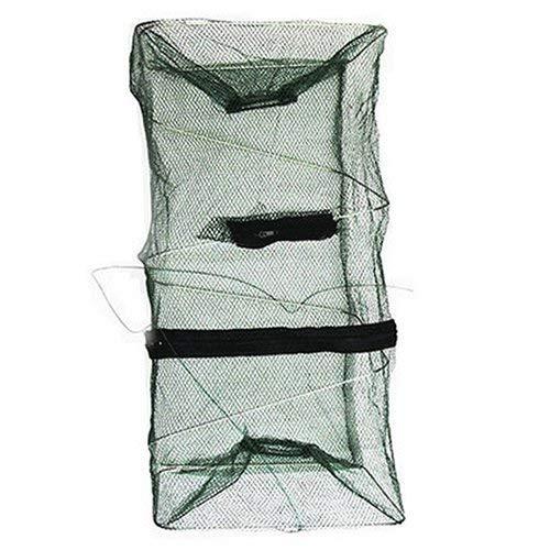 Foldable Fish Crawdad Minnow Fishing Bait Trap Cast Dip Net Cage...