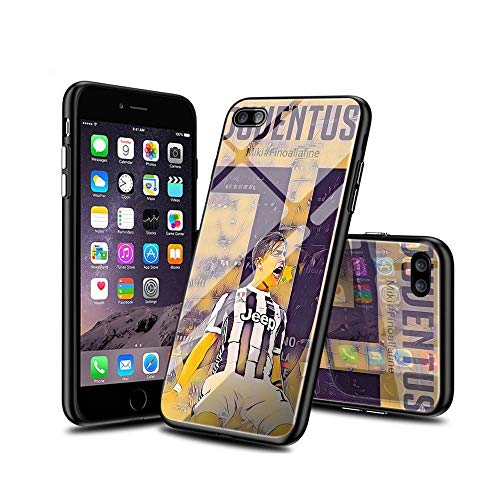 ShuTAO CC iPhone 7 Plus Funda, iPhone 8 Plus Funda, Silicona Suave TPU Bumper y Cristal Templado Carcasa con Dibujos Diseño Ultrafina Protectora Case para iPhone 7 Plus, iPhone 8 Plus #C 003