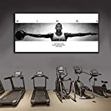 DHLHL Tamaño Grande Michael Jordan Wings Baloncesto Art Poster Print Wall Art Picture Home Room Decoration 60x120cm Sin Marco