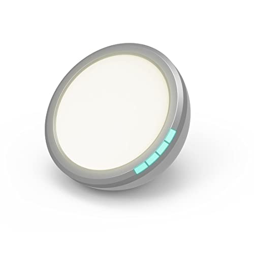 Lifemax Portable SAD Light - 10000 lux - Medically Certified to Treat Seasonal Affective Disorder