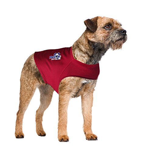 Mellow Shirt Dog Anxiety Calming Wrap, Medium, Sangria