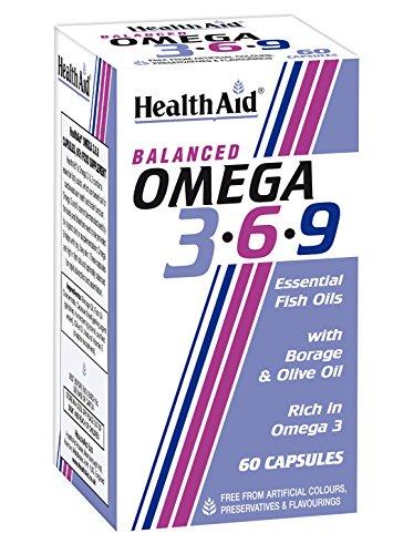 HealthAid Omega 3 - 6 - 9 - 60 Capsules