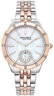New Anne Klein New York 12/2305MPRT Two-Tone Swarovski Crystal Ladies Watch