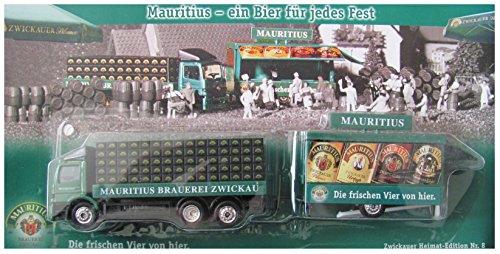 Mauritius Nr.47 - EIN Bier für jedes Fest - MB Atego - Hängerzug mit Schankwagen