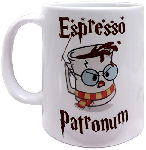 Espresso Patronum Themed 11oz Ceramic Mug/Cup, Grade A Quality Ceramic - Foam Box Protection (Perfect Gift)