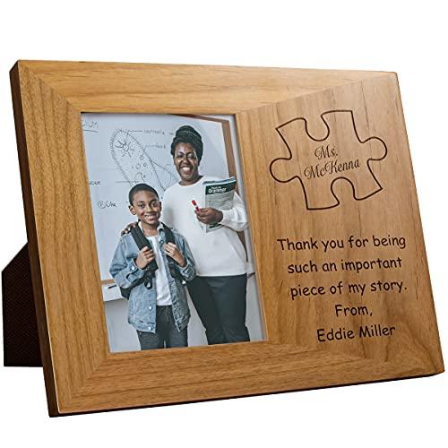 Personalized Teacher Plaque