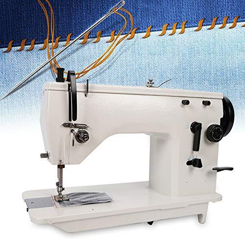 TFCFL SM-20U23 Heavy Duty Sewing Machine,Industrial Sewing Machine,Upholstery Sewing Machine,Walking Foot Industrial Sewing Machine for Beginners Sewing Machine 2000RPM DPX5 Straight Curved Seam