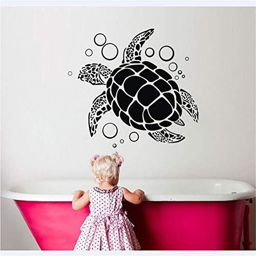 zqyjhkou Wandtattoo Schildkröte Tier Vinyl Wandaufkleber Abziehbilder Wohnkultur Kunst Wohnzimmer & amp; Raum für Raumdekoration125x115cm