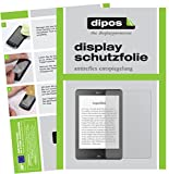 dipos I 2X Schutzfolie matt kompatibel mit Tolino Epos eBook Reader Folie Displayschutzfolie