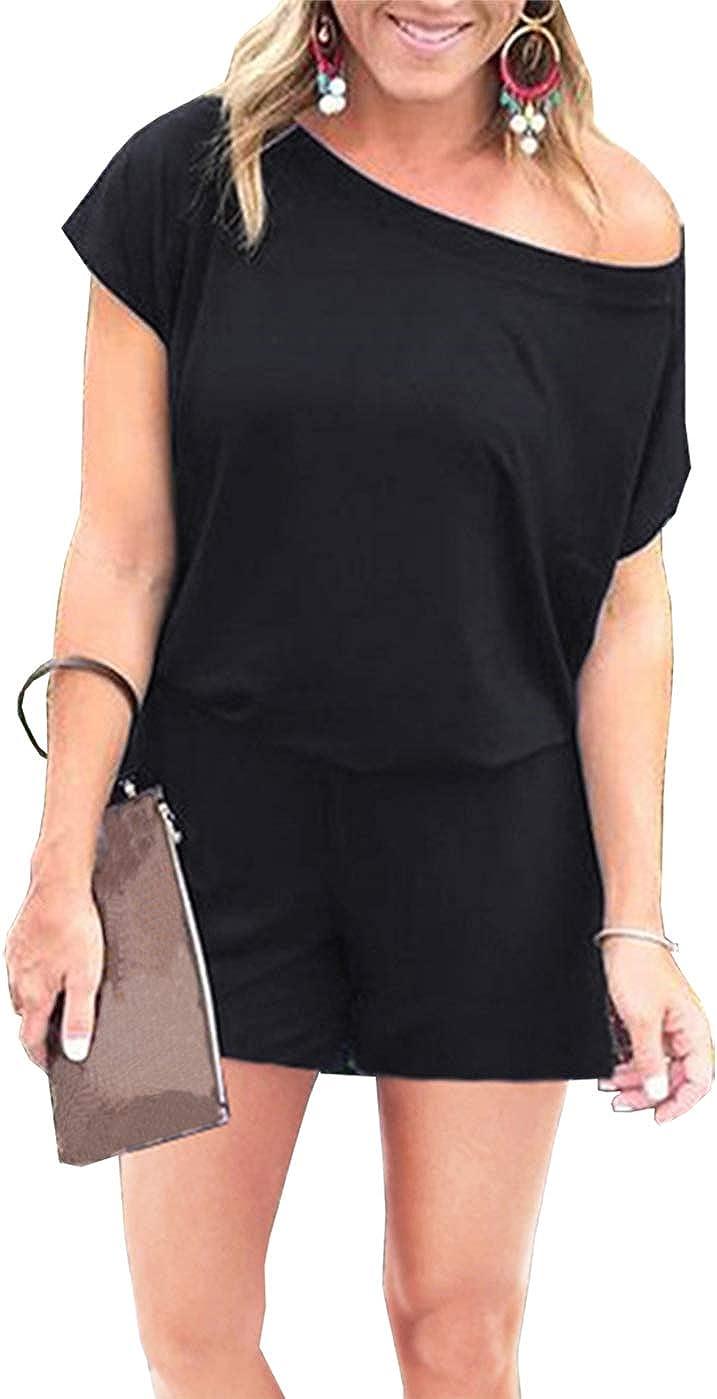 PRETTYGARDEN Women's Summer Casual Off Short Sho Sleeve Fashion Shoulder Popular overseas