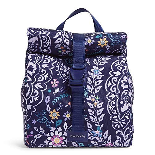Vera Bradley Women's Recycled Lighten Up Reactive Tote Lunch Bag, Belle Paisley, One size