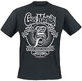 Gas Monkey Garage Flags T-Shirt Nero S