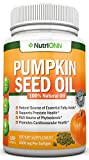 PUMPKIN SEED OIL - 1000MG - 180 Softgels - Cold-Pressed Natural...