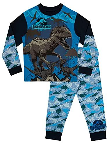 Jurassic World - Pijama para Niños - Jurassic World - 9 - 10 Años