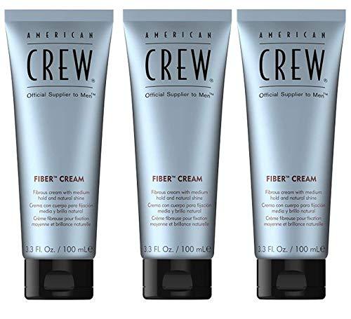 American Crew Fiber Cream Set - 3x 100ml = 300ml