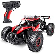 SGILE Remote Control Car Toy for Boys Girls, 2.4 GHz RC Drift Race Car, 1:16 Scale Fast Speedy Crawler Truck, 2 Batteries for 50 Mins Play, Toy Gift for Boys Girls