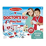 Melissa & Doug Get Well Doctor's Kit Play Set, The Original (25 Pieces, Great Gift for Girls and Boys - Kids Toy Best for 3, 4, 5, and 6 Year Olds)