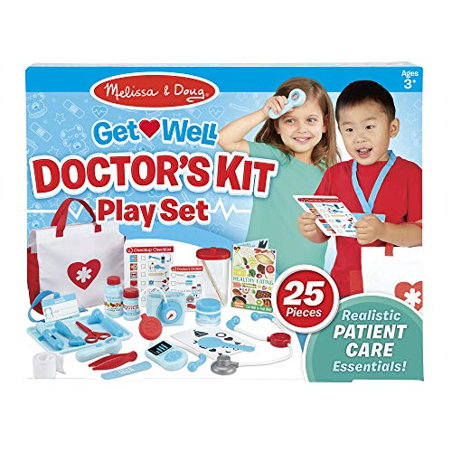 Melissa & Doug Get Well Doctor's Kit Play Set Only $18.97 (Retail $32.49)